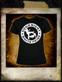 Good night white pride - Girlie Shirt
