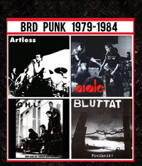 BRD Punk 1979-1984, 4er CD-Paket