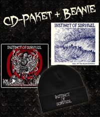 Instinct Of Survival, CD Paket + Beanie