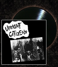 UPRIGHT CITIZENS - Bombs Of Peace, LP inkl. A1 Poster