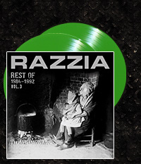 RAZZIA - Rest of 1984-1992 Vol.3 Doppel-EP + CD, grünes Vinyl