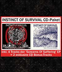 INSTINCT OF SURVIVAL, CD-Paket + 6 Bonus-Tracks