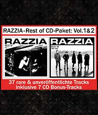 RAZZIA - Rest Of CD-Paket: Volume 1 & 2 (+ 7 Bonus-Tracks)