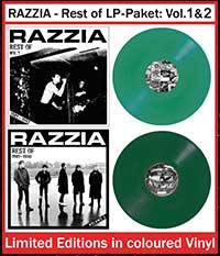 RAZZIA - Rest of LP-Paket: Volume 1 & 2, farbiges Vinyl