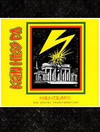 Kein Hass Da - Hirntrafo(CD) + Bad Brains Transformation(Comic)
