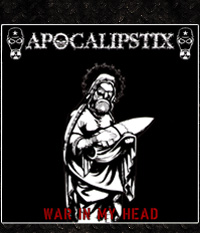 Apocalipstix - War In My Head  5-Track-EP/7