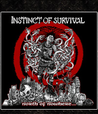 Instinct Of Survival - North Of Nowhere - LP/12