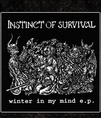 Instinct Of Survival - Winter In My Mind, EP transparentes Vinyl