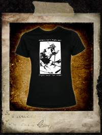 Animals can't fight back, fight back for them! - Girlie Shirt