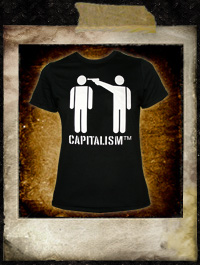 Capitalism - Girlie Shirt