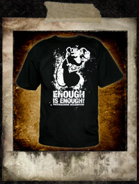 Enough is enough! Überwachung bekämpfen! - T-Shirt