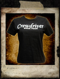 Crewdriver - Stink Fauli, Girlie Shirt