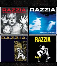 RAZZIA - 4er CD-Paket 1986-1992, 57 Tracks + 5 Videos