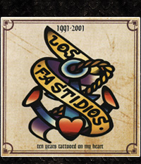 Los Fastidios - 10 Years tattooed on my heart, CD