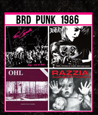 BRD Punk 1986, 4er CD-Paket