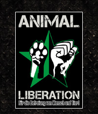 Sticker: Animal Liberation - 10 Stück