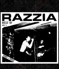RAZZIA - Rest of 1981-1992 Vol.1, CD-Digi + 3 Bonus-Tracks