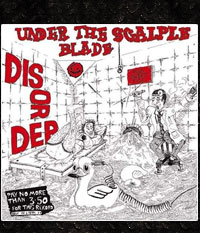DISORDER - Under the scalple blade, LP/12