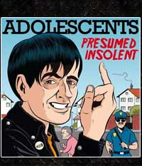 Adolescents - Presumed Insolent, LP/12