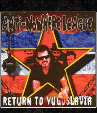 Anti Nowhere League - Return to Yugoslavia, CD