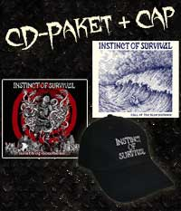 Instinct Of Survival CD Paket + Cap