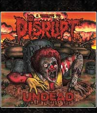 V.A. UNDEAD - A Tribute To DISRUPT, Do-LP + EP im Klapp-Cover