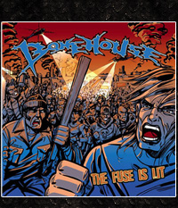 Bonehouse - The Fuse Is Lit, LP + blaue EP: LIMITED EDITION