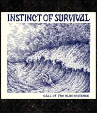 Instinct Of Survival - Call of the blue distance, LP + Sticker