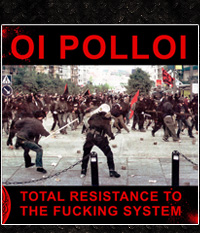 Oi Polloi - Total Resistance To The ... LP,  lim. graues Vinyl