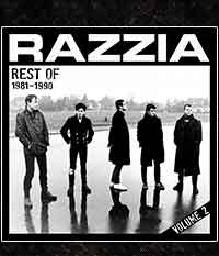 RAZZIA - Rest of 1981-1990 Vol.2 LP/12