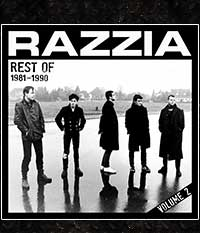 RAZZIA - Rest of 1981-1990 Vol.2, CD-Digi + 4 Bonus-Tracks