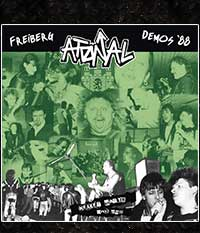 ATONAL - Keller Party Anti Pop - Demos ´88 LP/12