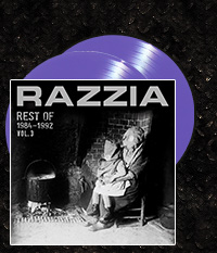 RAZZIA - Rest of 1984-1992 Vol.3 Doppel-EP + CD, violettes Vinyl
