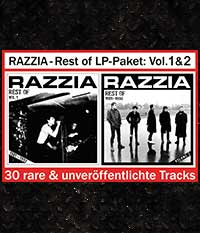 RAZZIA - Rest of LP-Paket: Volume 1 & 2, schwarzes Vinyl