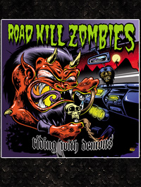 Sticker:  Road Kill Zombies - 5 Stück