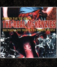 The Real McKenzies - Pissed Tae Th´ Gills  Digipak-CD