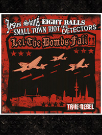 Let The Bombs Fall! 4-er Split CD  inkl. 2 Bonus-Videos