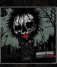 No White Rag - Silence Is Violence  CD im Digipak
