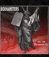 Boxhamsters - Thesaurus Rex  CD-Digipak
