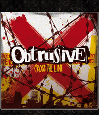 Obstrusive - Cross the line  CD