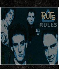 Ruts - Rules  CD