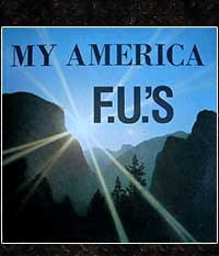 F.U.'s - My America + Kill For Christ, LP/12