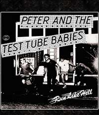 Peter & The Test Tube Babies - Run Like Hell, EP/7